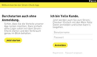 Screenshot of Strom-Check