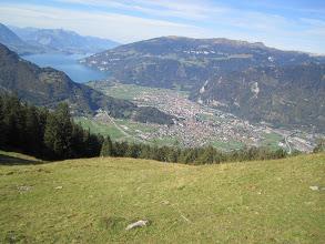 Photo: Interlaken town from Launch