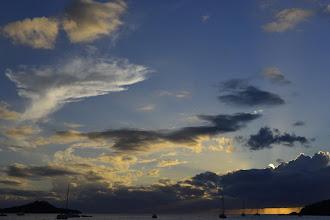 Photo: J'envie toujours les gens qui, la plupart du temps, peuvent jouir 6 jours sur 7 d'aussi magnifiques couchers de soleil.