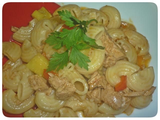 Pasta with Tuna and Pineapple Recipe