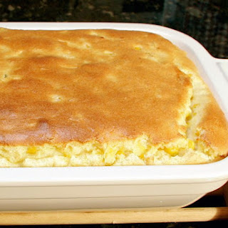 Classic Baked Corn Pudding.