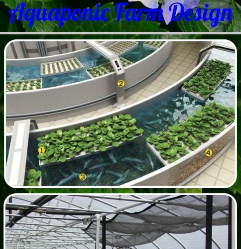Aquaponicファームデザイン