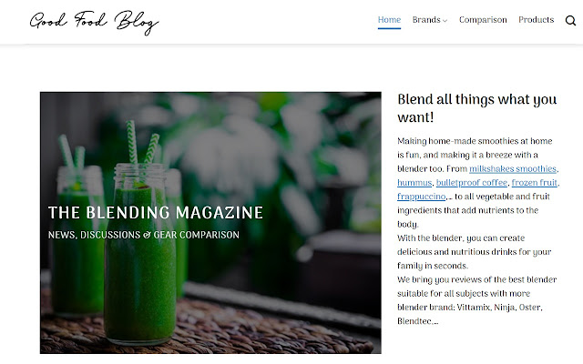 The Blending Magazine