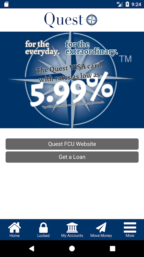 Quest Federal Credit Union- screenshot