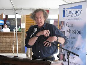 Photo: Lorne Elliott, NSPGI 2011 Poet Laureate
