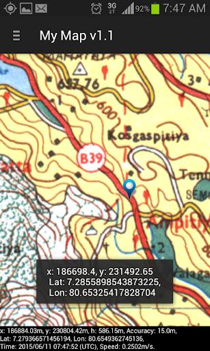 My Map Sri Lanka