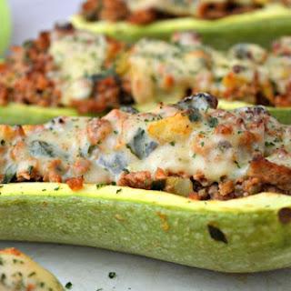Stuffed Zucchini.