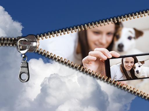 Zipper Photo Frames
