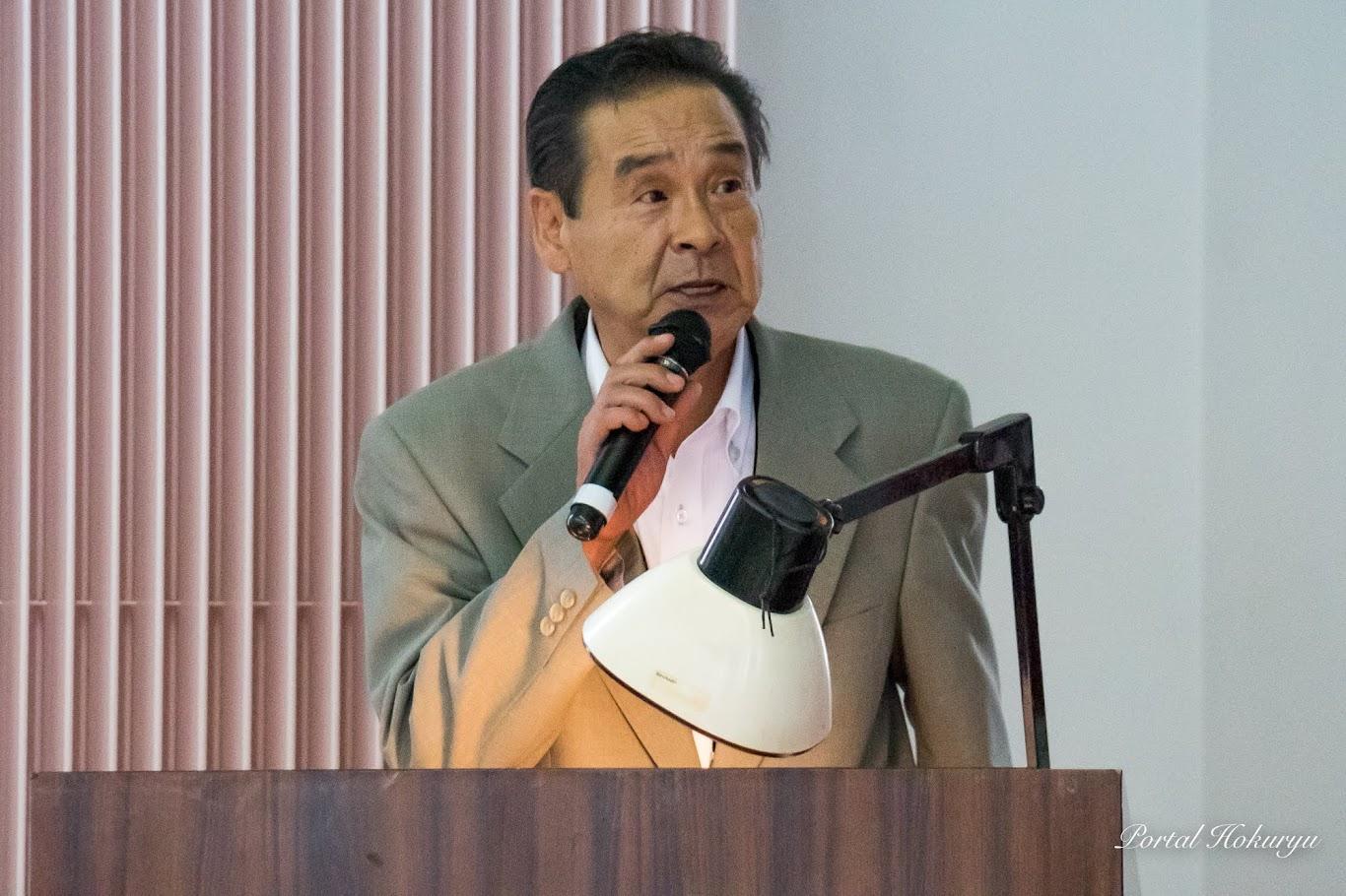 北竜町社会福祉協議会・善岡良雄 事務局長