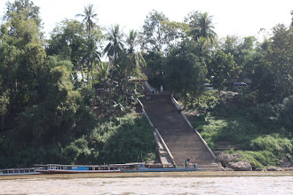 Photo: Day 275 - Steps Down to the Mekong River