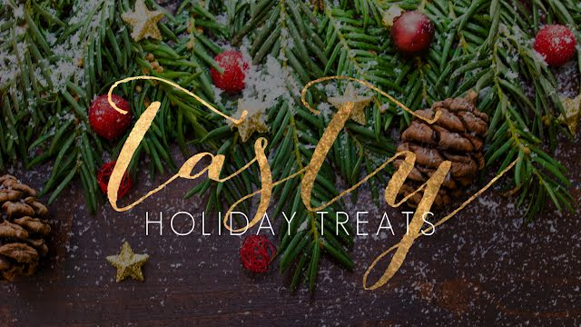 Tasty Holiday Treats - Christmas Template