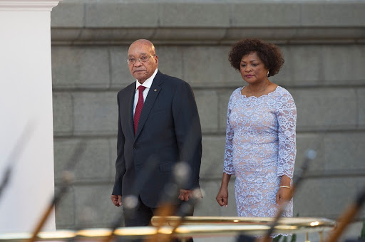 President Jacob Zuma and National Assembly Speaker Baleka Mbete. Picture: REUTERS/MIKE HUTCHINGS