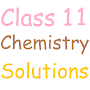 Class 11 Chemistry Solutions APK icon