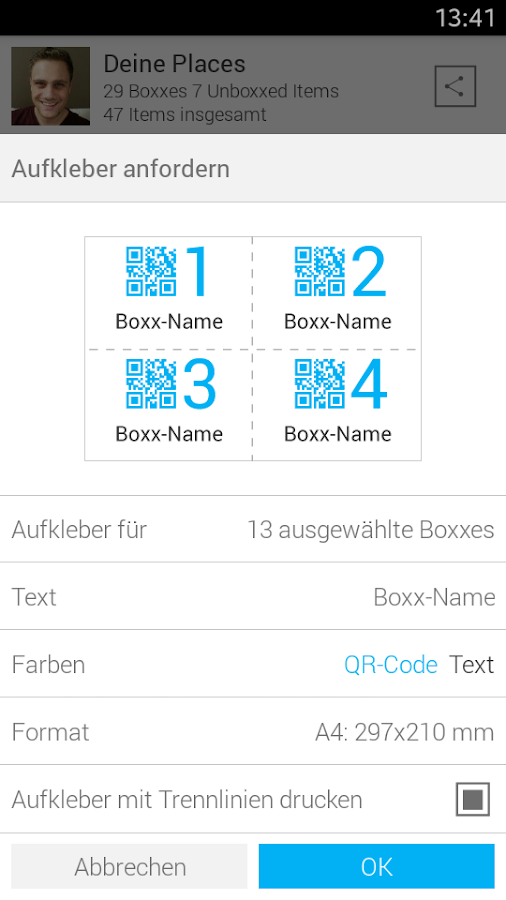 iboxxit - connected storage- screenshot