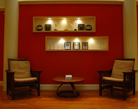 Photo: One of our many reading areas where weduites can sit and work on a laptop or tablet.