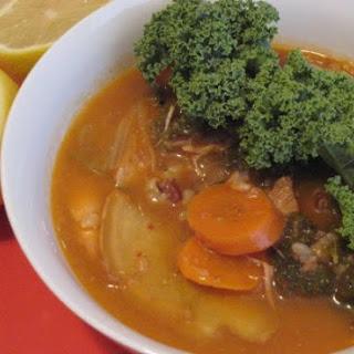 Kimchi-Kale-Chicken Soup