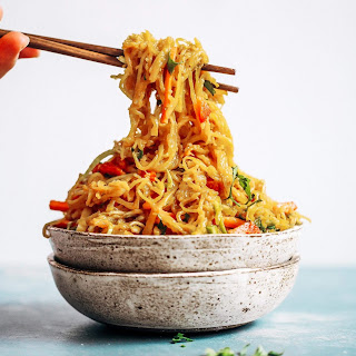 Best Asian Garlic Paleo Whole30 Noodles Recipe