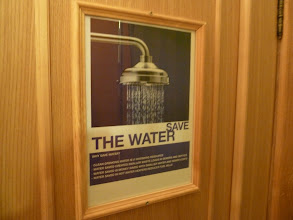 Photo: Save the water poster