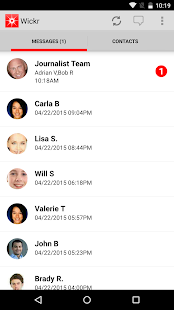 Wickr-Top Secret Messenger- screenshot thumbnail