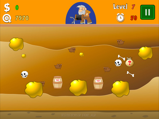Gold Miner Classic Lite screenshot 8