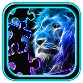 Neon Animals Jigsaw Puzzle
