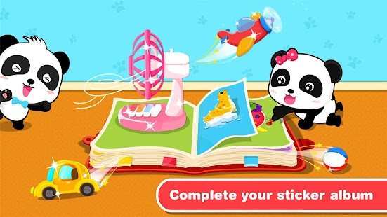 Baby Panda's Animated Stickers - náhled
