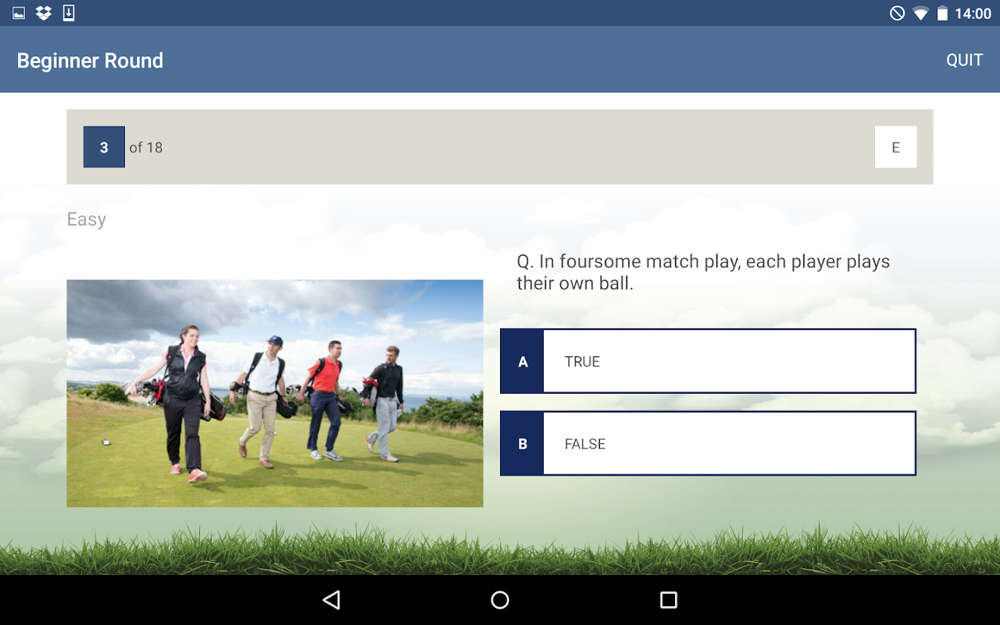 The R&A Rules of Golf- screenshot
