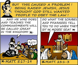 Photo: Jesus thought God still wanted people to obey the law! Matt. 5:17-19 Matt. 23:1-3