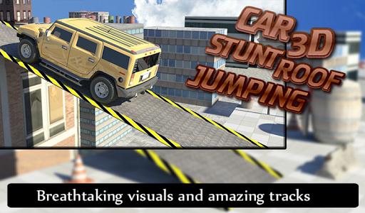 玩賽車遊戲App|カースタント3D屋根ジャンプ免費|APP試玩