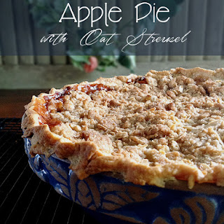 Apple Pie with Oat Streusel - My #BloggerCLUE Dessert