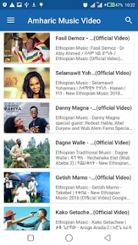 Download Amharic Music Video APK latest version by LOGADEV