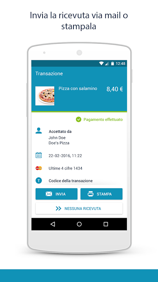 payleven: il POS mobile- screenshot