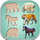 Puzzle Game Animals Birds and Fish for Toddlers (game)