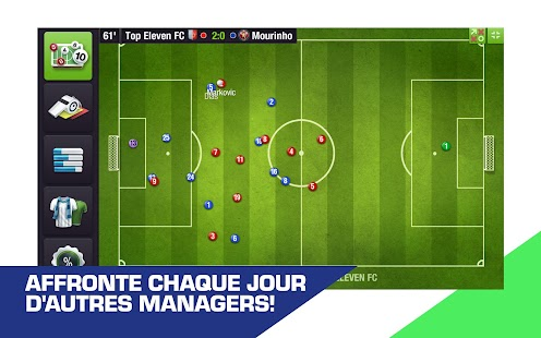 Top Eleven 2019 - Manager de Football Capture d'écran