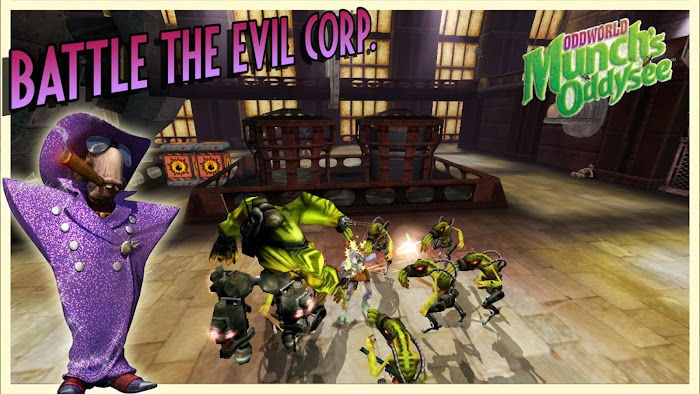 Oddworld: Munch's Oddysee- screenshot