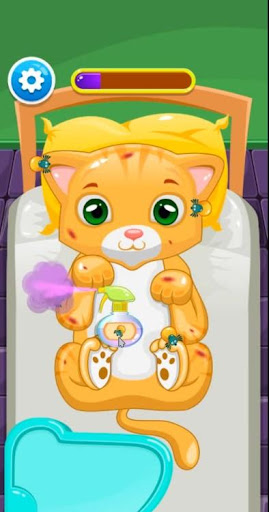 Little Cat Doctor Pet Vet Game modavailable screenshots 7