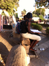 Photo: Learning in the street