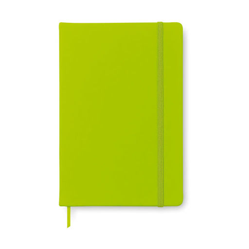 A5 Notebooks with Soft Cover to Personalise - Orange