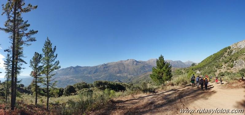 Benadalid-Benalauría-Cerro Poyato-Peñón de Benadalid