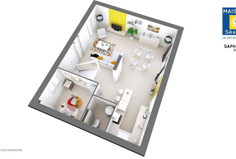 Vente Terrain + Maison - Terrain : 450m² - Maison : 120m² à Dammartin-en-Goële (77230)