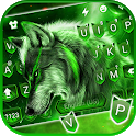 Wild Night Wolf Keyboard Theme icon