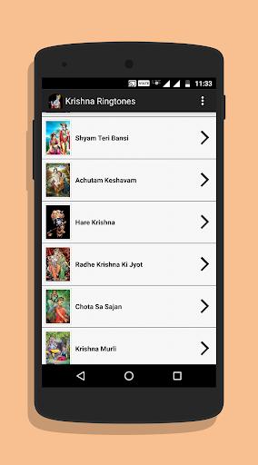 Krishna Ringtones 1.8 screenshots 2
