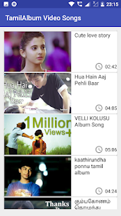 Tamil Album Video Songs Apk Download 2