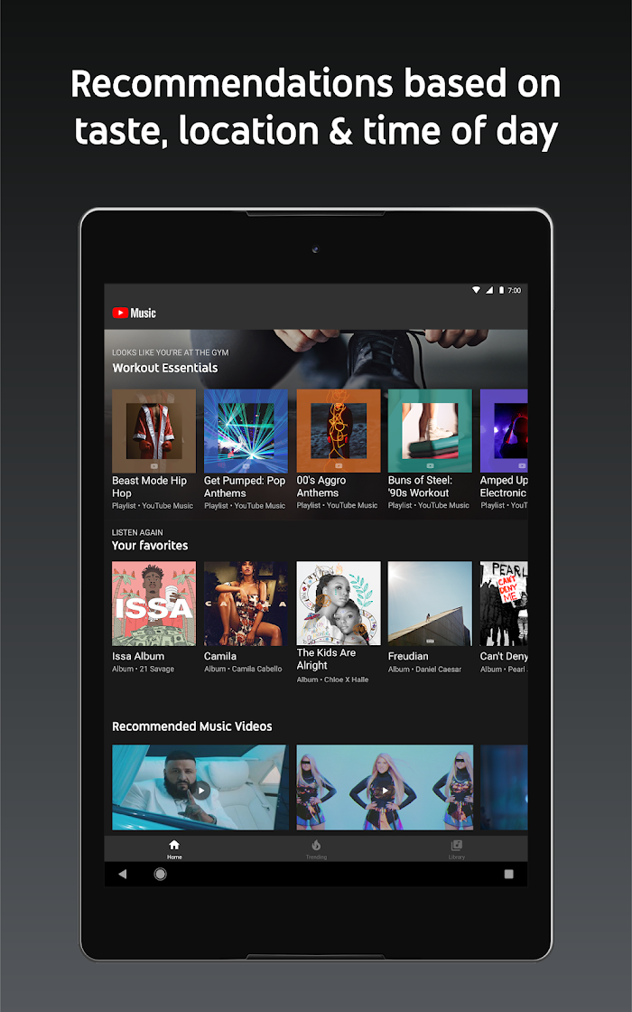 YouTube Music - Stream Songs & Music Videos APK Download - VidzApps