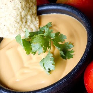 Dairy Free Queso Dip.