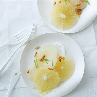 Grapefruit and White Beets with Yogurt and Tarragon Recipe