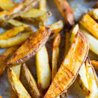 Crispy Oven Baked French Fries.