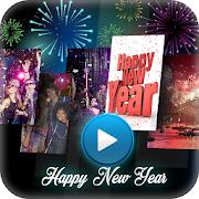 2018 Video maker New year photos