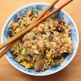Chinese Duck Fried Rice.