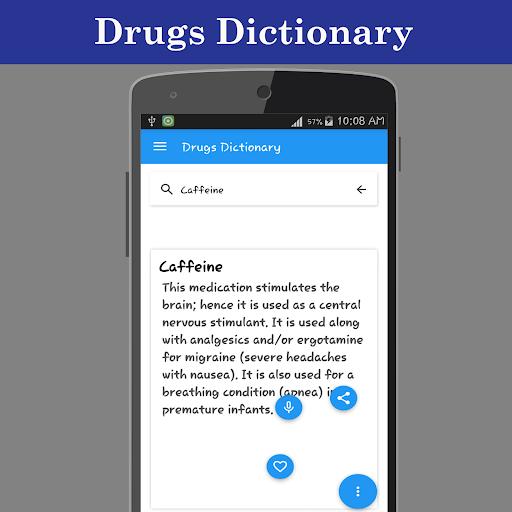 Drugs Dictionary Offline  screenshots 3
